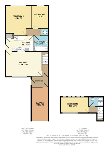 Floorplans For Darwin Close, Coventry