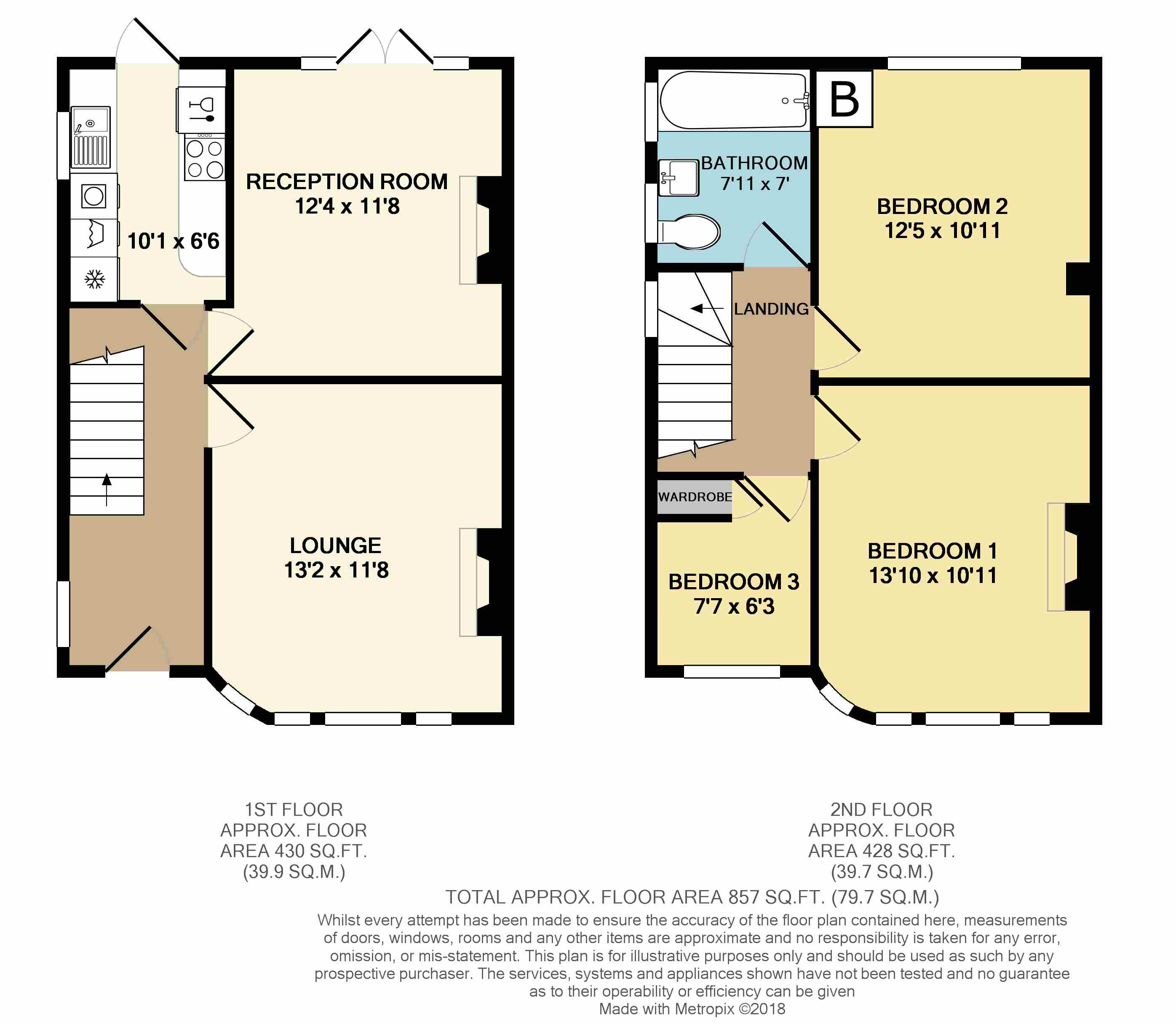 Floorplans For Westfield Road, Rugby