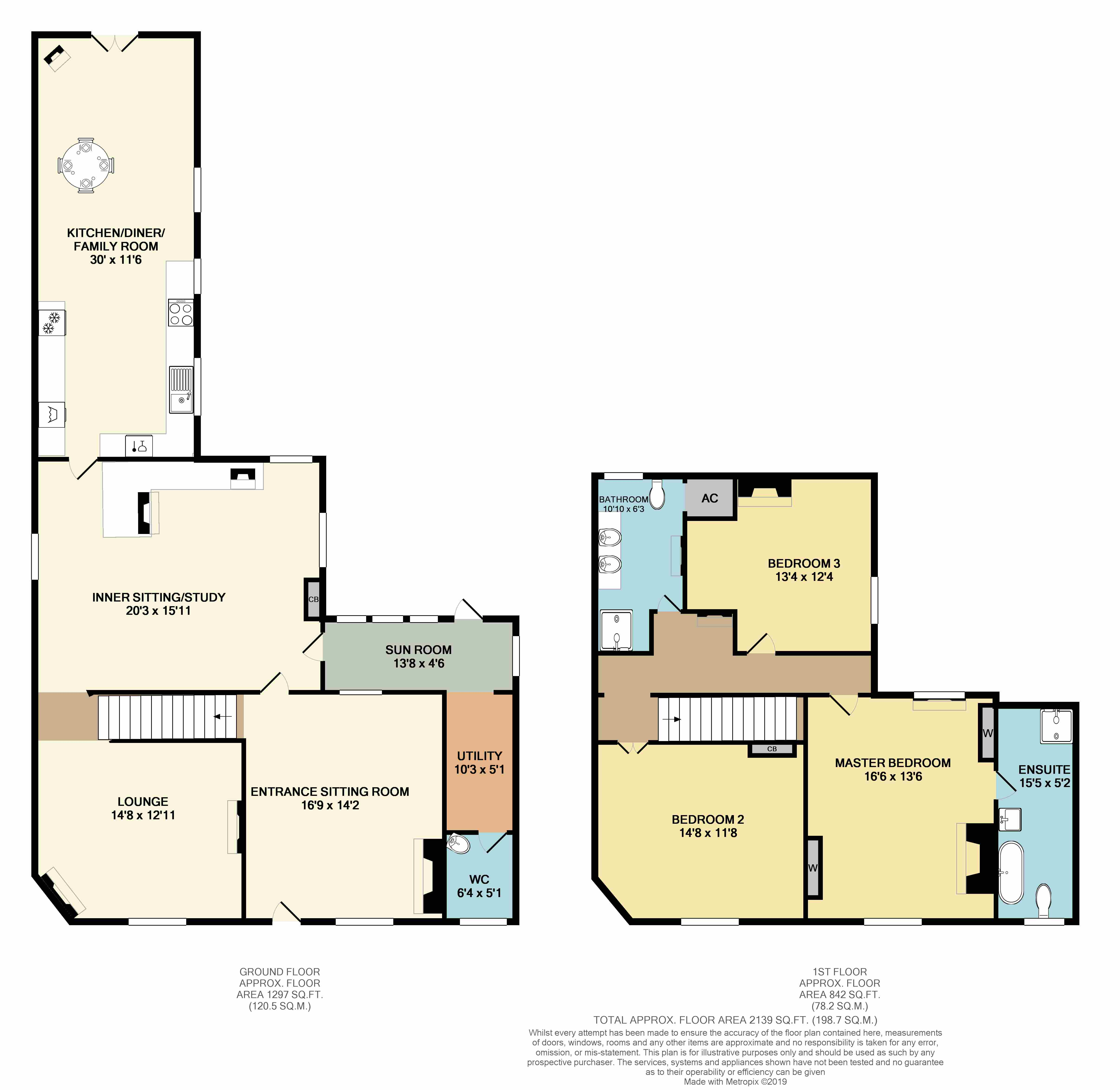 Floorplans For Main Road, Claybrooke Parva, Lutterworth