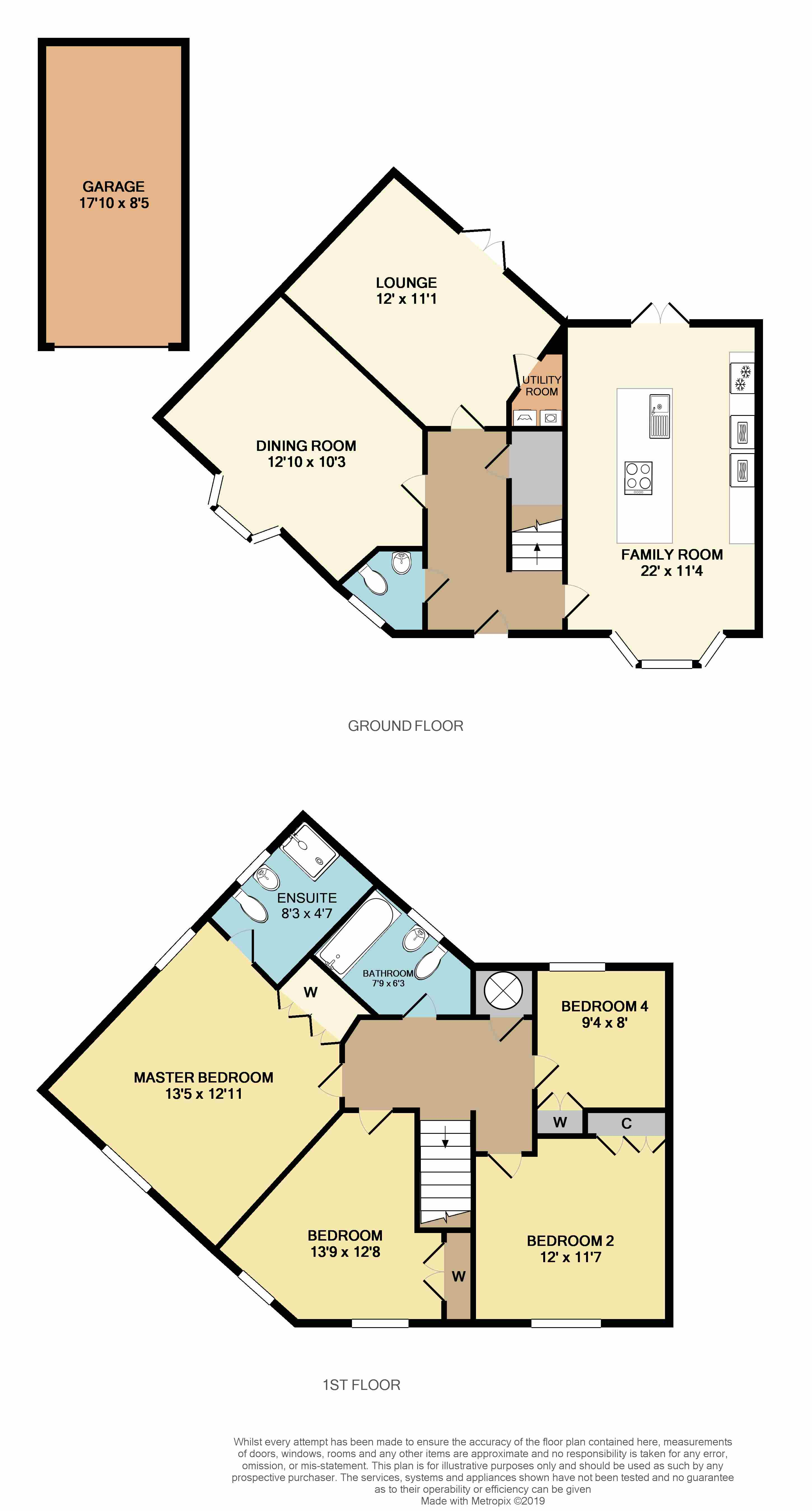 Floorplans For Two Pike Leys, Rugby