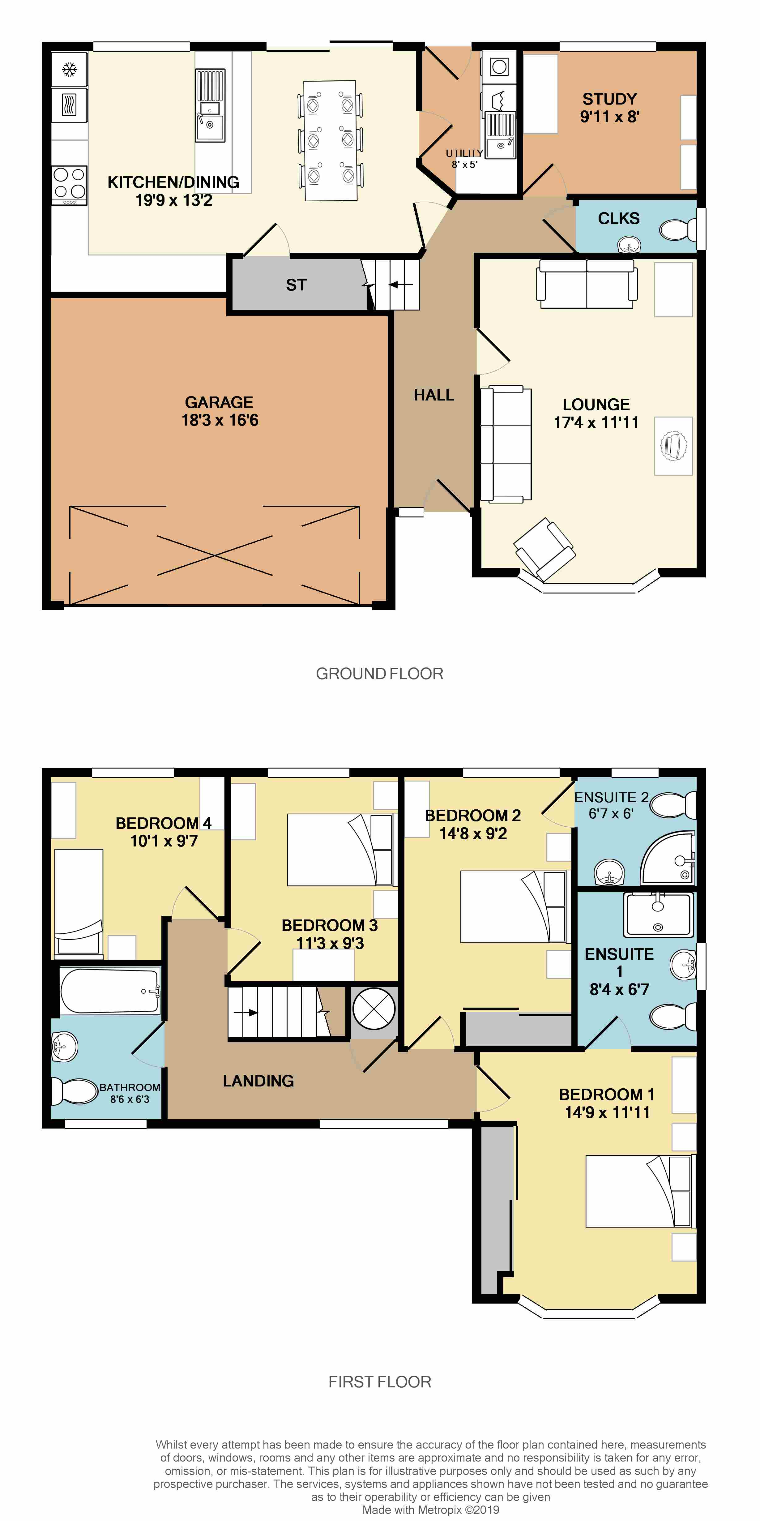 Floorplans For Calvestone Road, Rugby