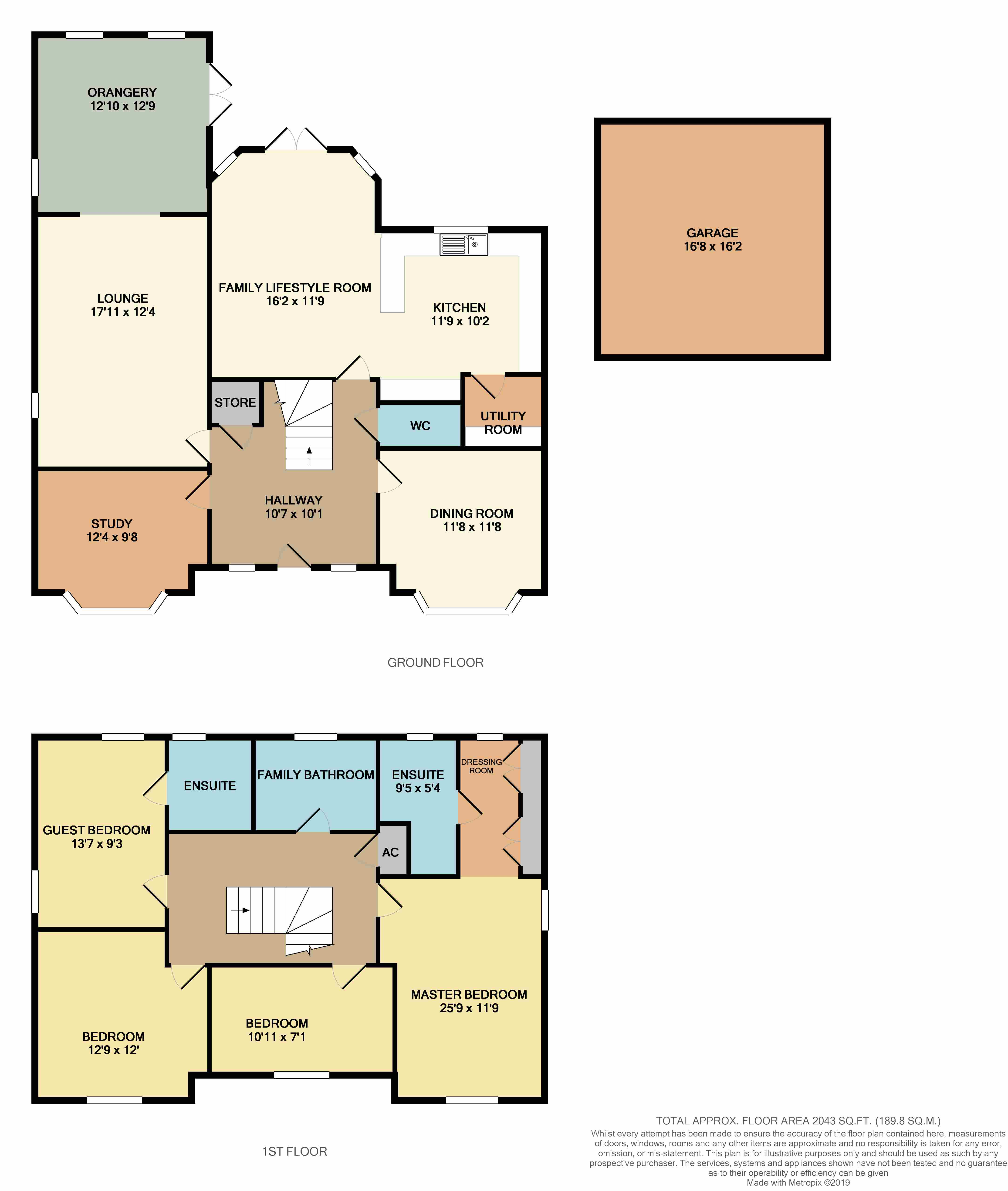 Floorplans For Chatham Road, Meon Vale, Stratford-upon-Avon