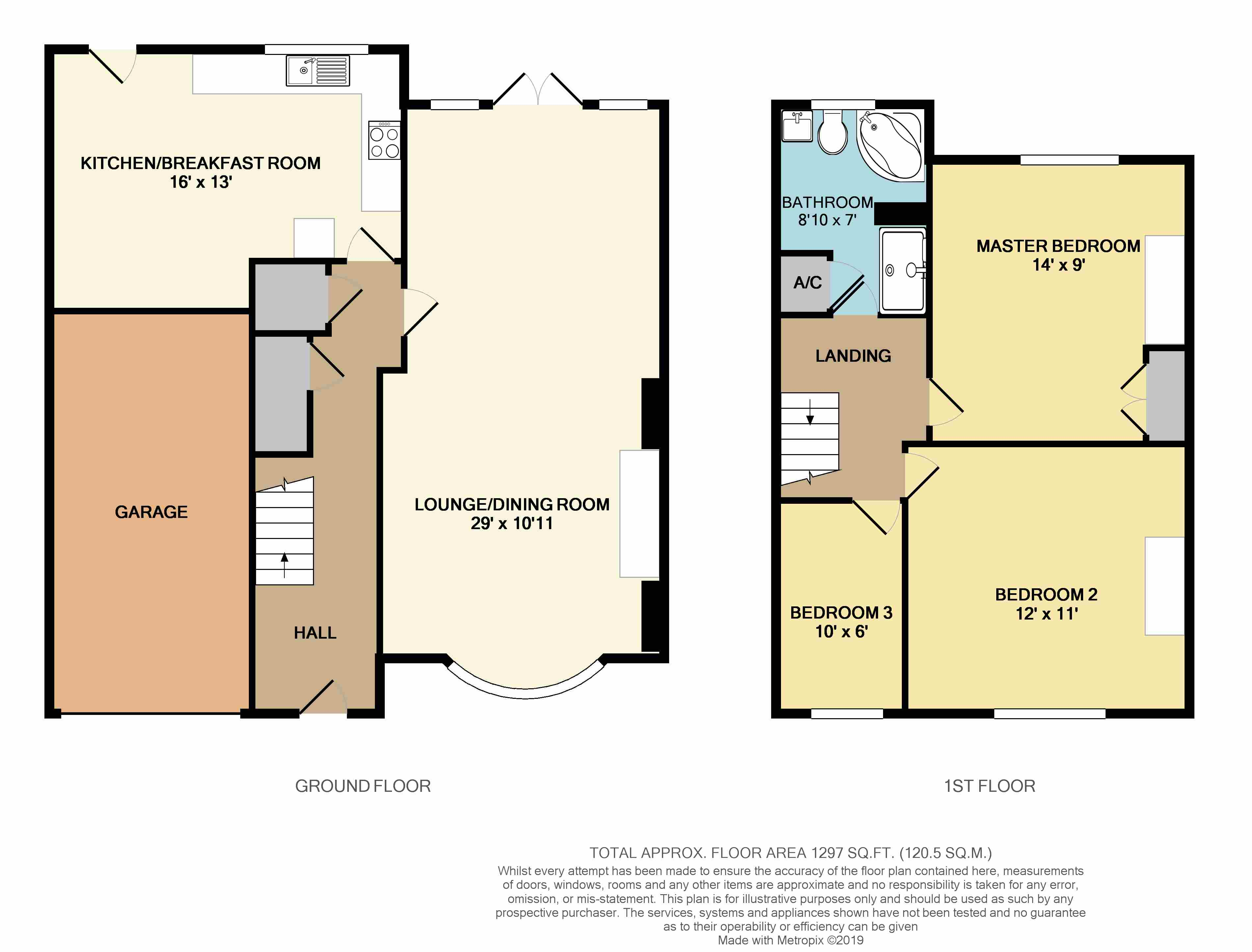 Floorplans For Newbold Road, Rugby