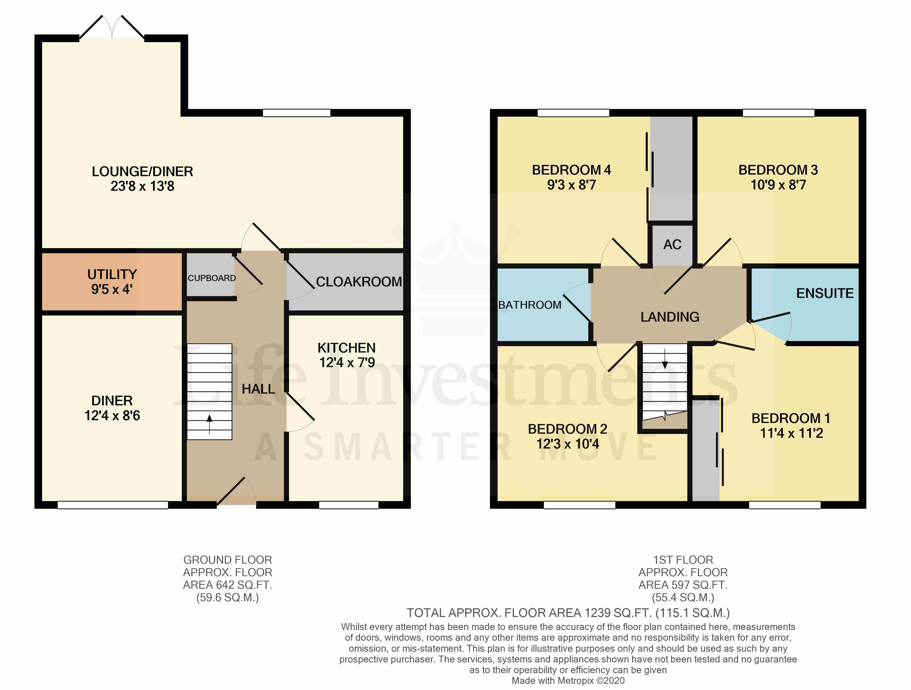 Floorplans For Hawthorn Close, Rugby