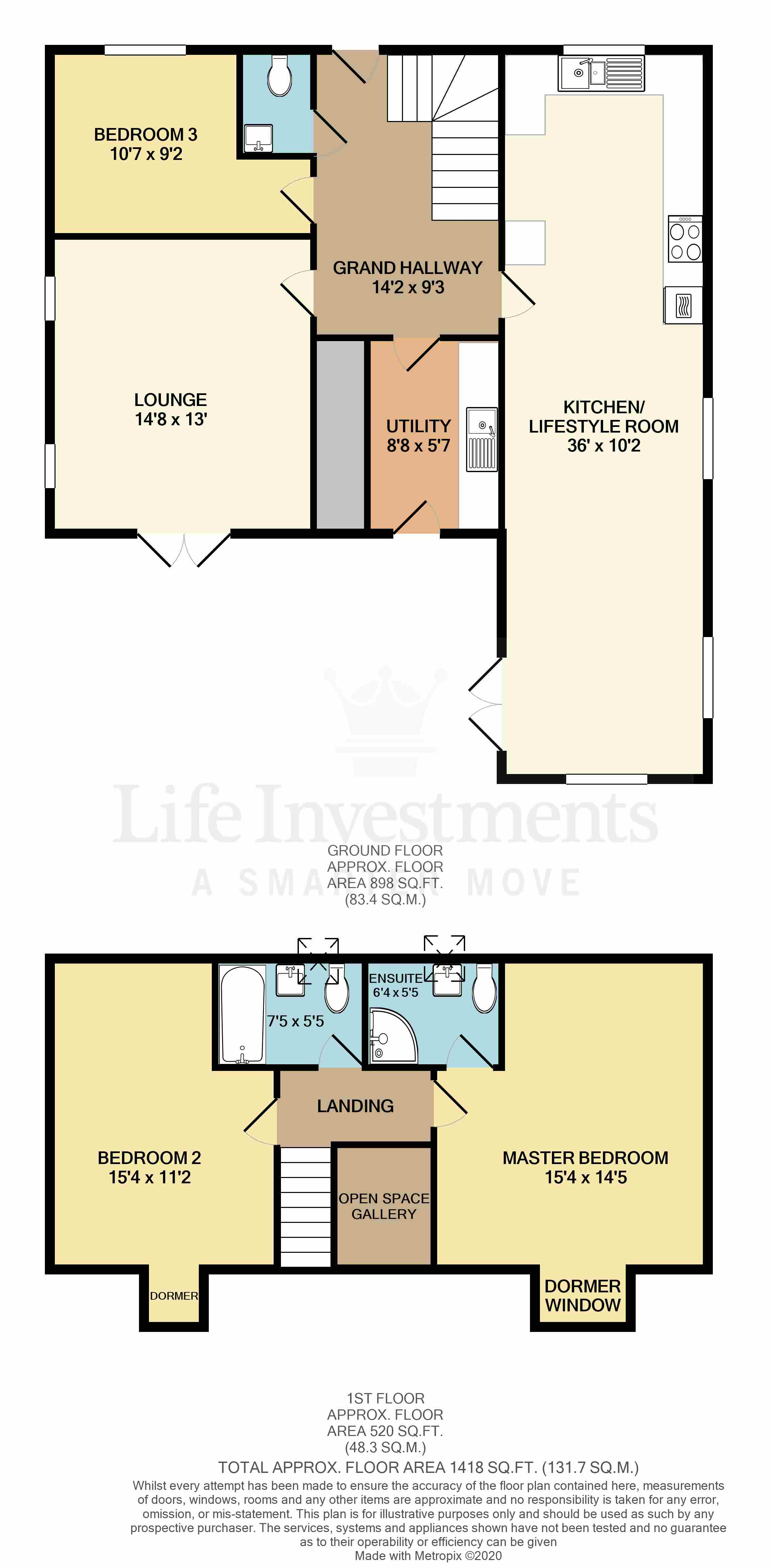 Floorplans For Percy Close, Brinklow, Rugby