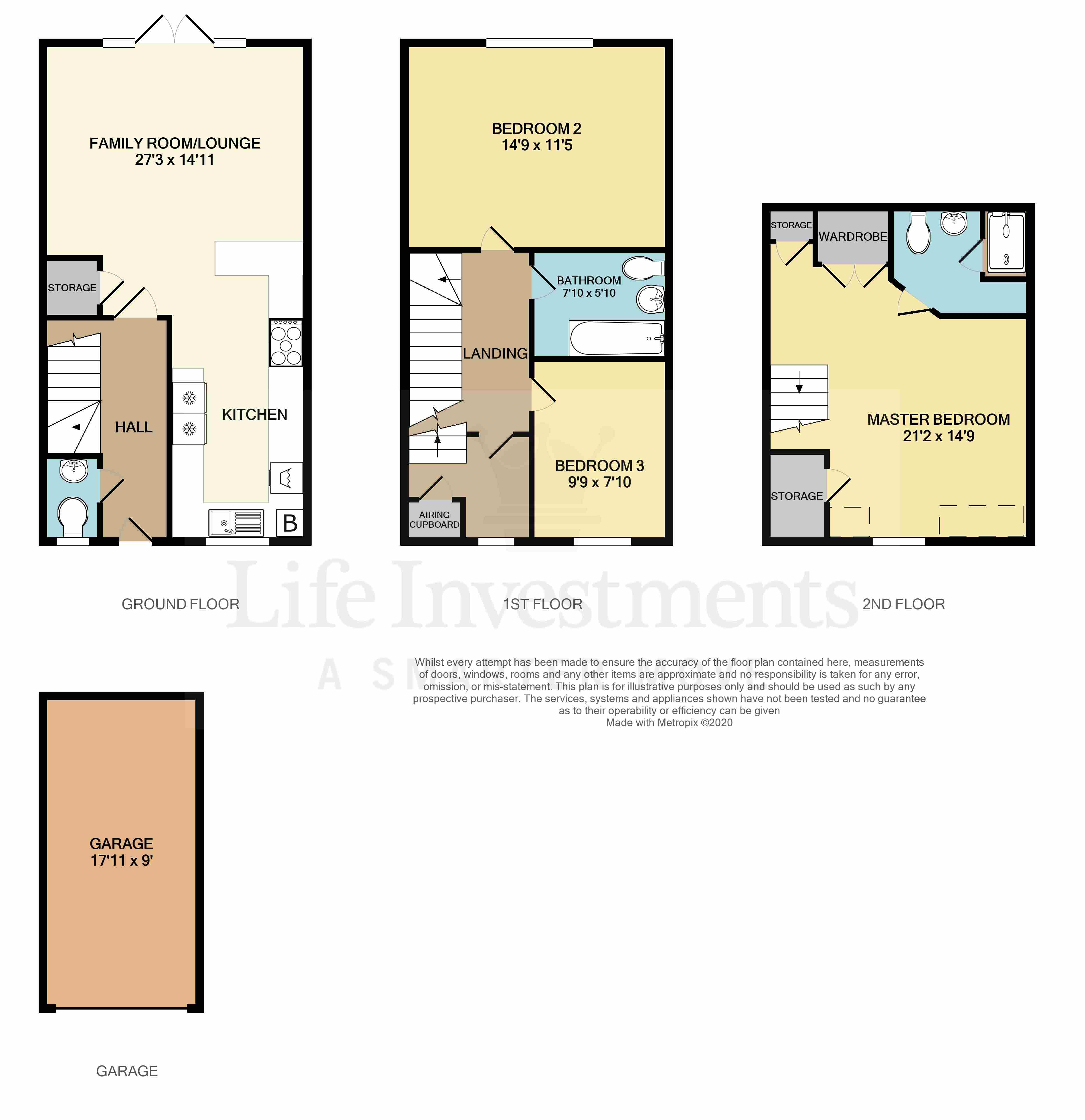 Floorplans For Berrybanks, Rugby