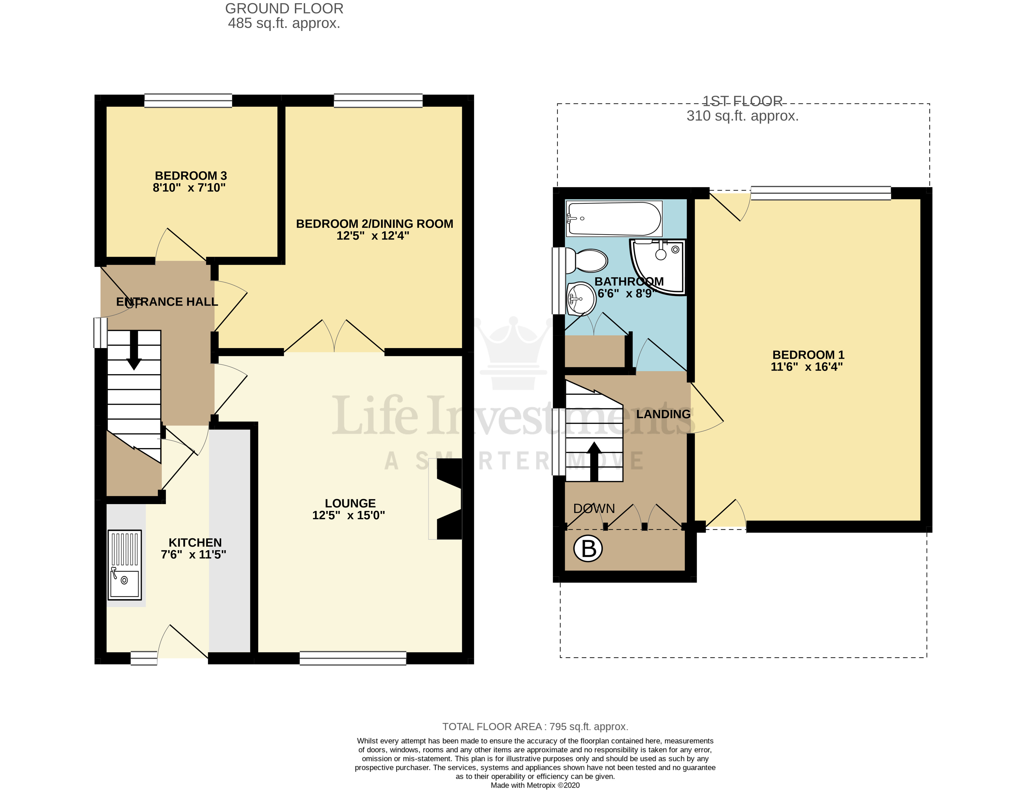 Floorplans For Macbeth Close, Rugby