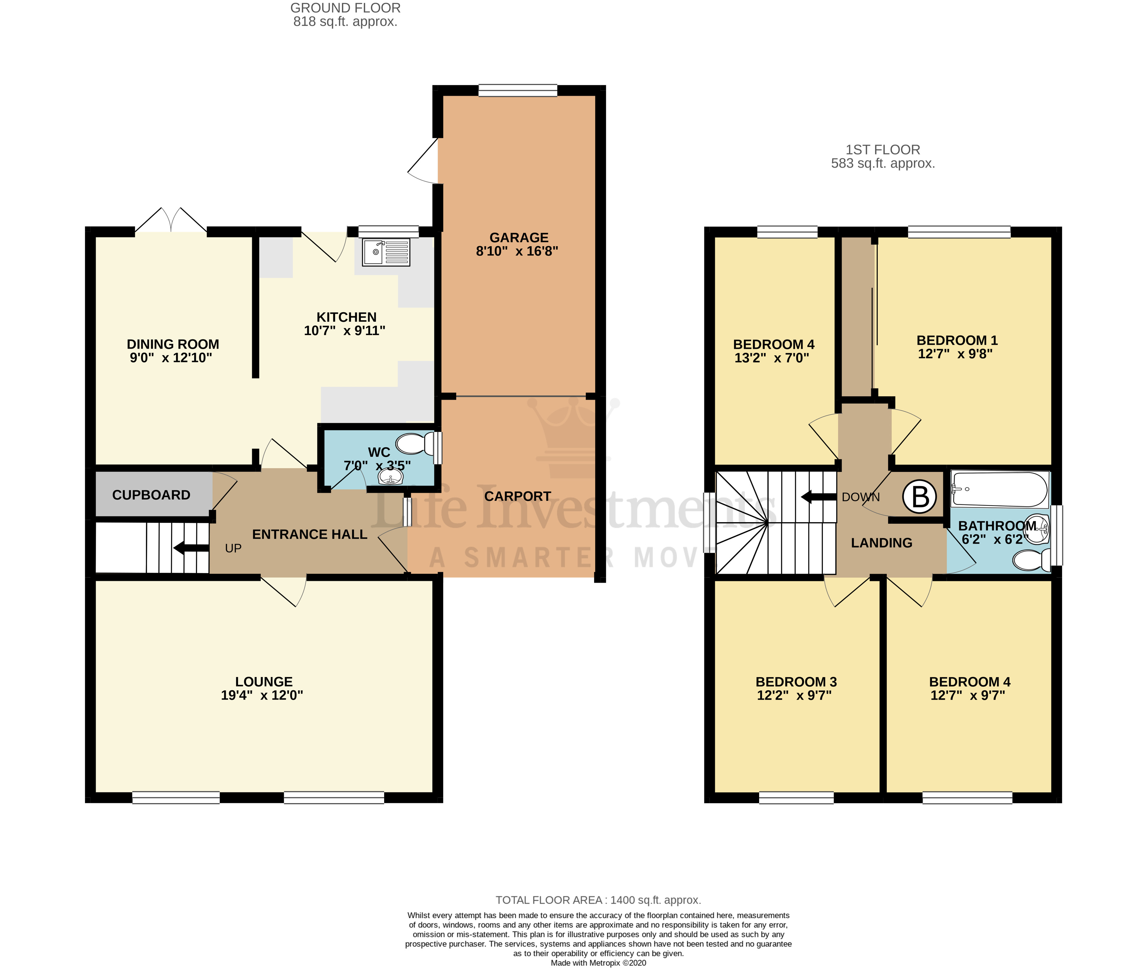 Floorplans For Ambleside, Rugby